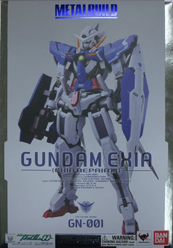 Gundam Exia & Gundam Exia Repair III Metal Build 1/100