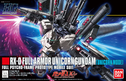 HG 1/144 RX-0 Full Armor Unicorn Gundam [Unicorn Mode]