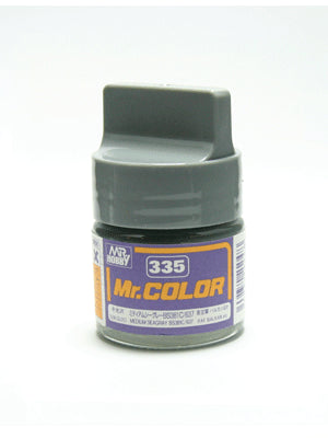 Mr. Color  335 Medium Seagray BS381C/637 Semi Gloss