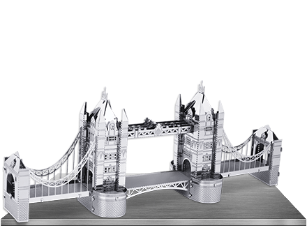Metal Earth - London Tower Bridge 3D Laser Cut Model