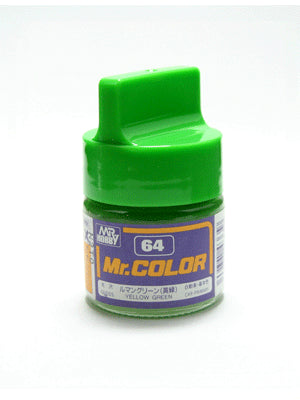 Mr. Color 64 Yellow Green Gloss
