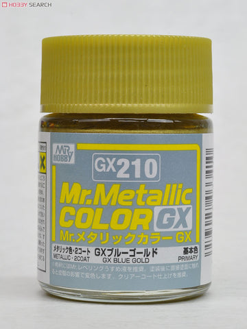 Mr. Color GX210 Metal Blue Gold (Metallic) 18ml