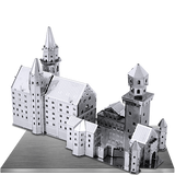 Neuschwanstein Castle 3D Laser Cut Model