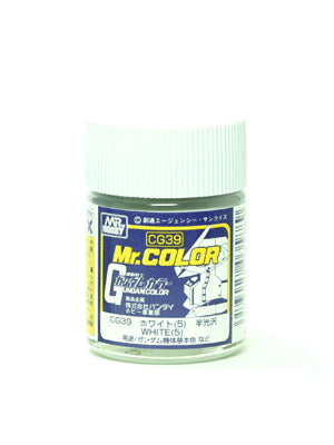 Mr. Color CG39 White 5 Semi Gloss