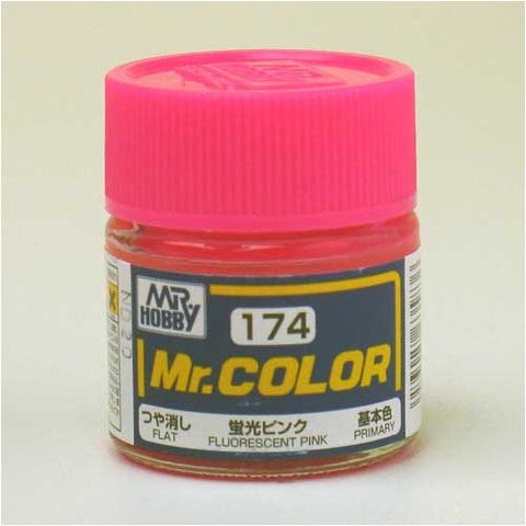 Mr. Color 174 Fluorescent Pink Semi-Gloss