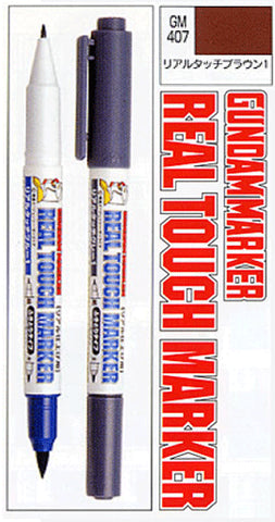 Real Touch Marker Brown GM407