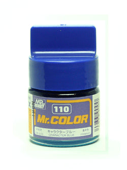 Mr. Color 110 Character Blue Semi Gloss
