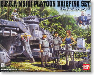 E.F.G.F MS[G] Platoon Briefing Set 1/35 UC Hardgraph