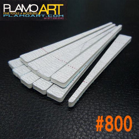 Mini Sand Stick Triangle #800 (10 pcs)  PLAMO ART