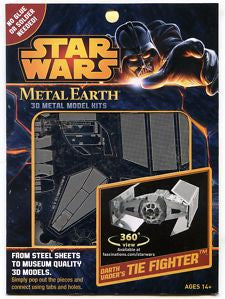 Star Wars DV Tie Fighter - Metal Earth 3D Laser Cut Model