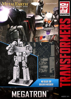 Metal Earth: Megatron Transformers