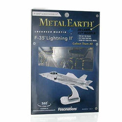 F-35 Lightning II 3D Laser Cut Model