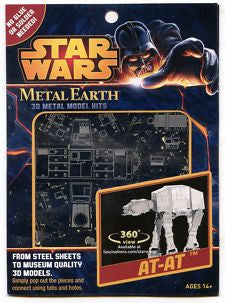 Star Wars AT-AT - Metal Earth 3D Laser Cut Model