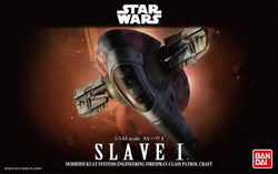 Bandai Star Wars 1/144 Scale - Slave I (Jango Fett Version)