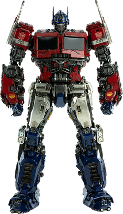 Optimus Prime DLX Scale Collectible Figure - Transformers: Bumblebee (ThreeA)