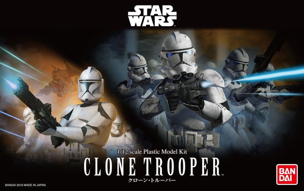 Bandai Star Wars 1/12 Scale - Clone Trooper