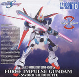 #10 Force Impulse Gundam + Sword Silhouette Extra Finish 1/100 HG