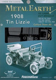 1908 Tin Lizzie (Ford Model T) 3D Laser Cut Model