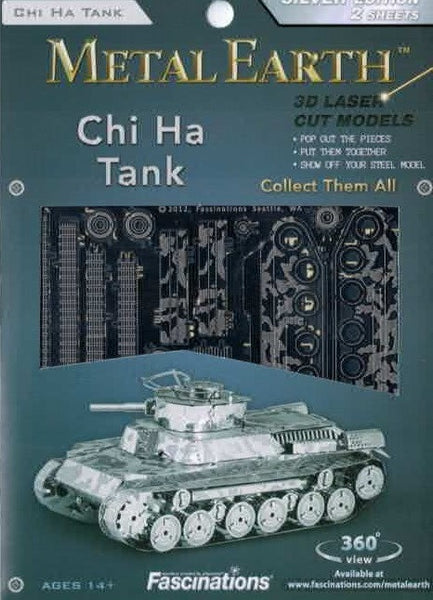Metal Earth: Chi Ha Tank