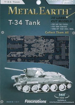 Metal Earth: T-34 Tank