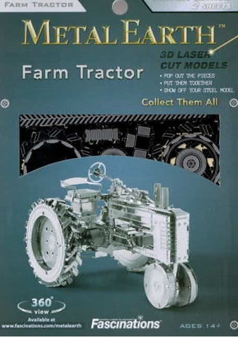 Metal Earth: Farm Tractor
