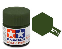 Tamiya Color Acrylic Paint 10ml Bottle XF-13 J.A. Green