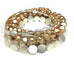 multishape metal bracelet set