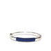 thread wrapped hinge bangle