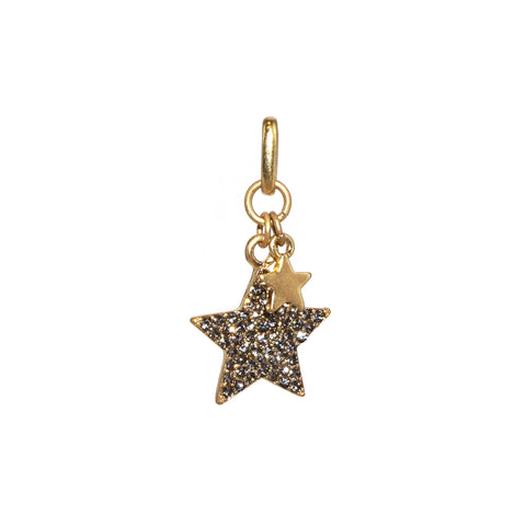 MINI double star bale charm