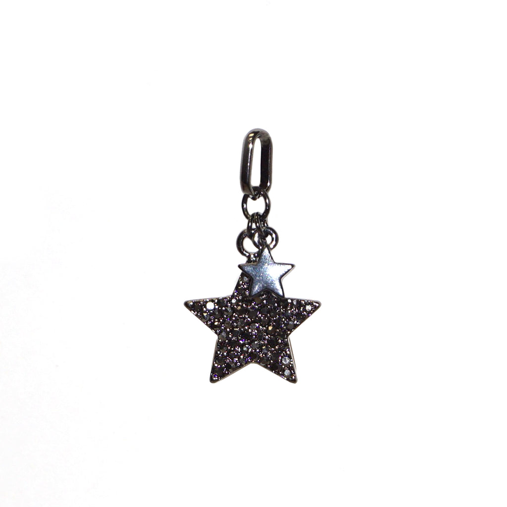 mini double star charm