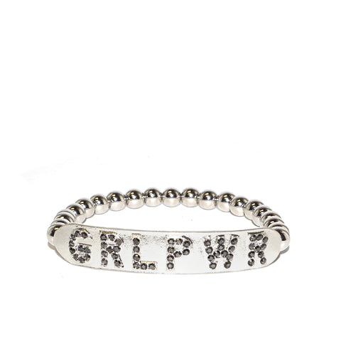 girl power stretch bracelet