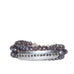 dotted bar wrap bracelet