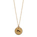 sterling aries zodiac necklace