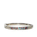 multi color pave bangle