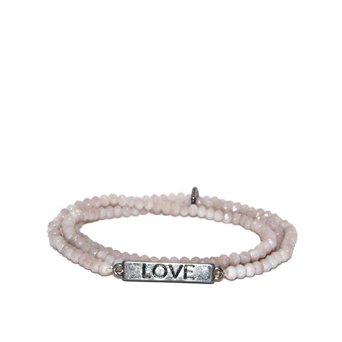 love rules mini stretch wrap