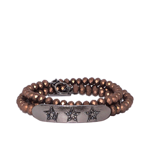 star bar wrap bracelet
