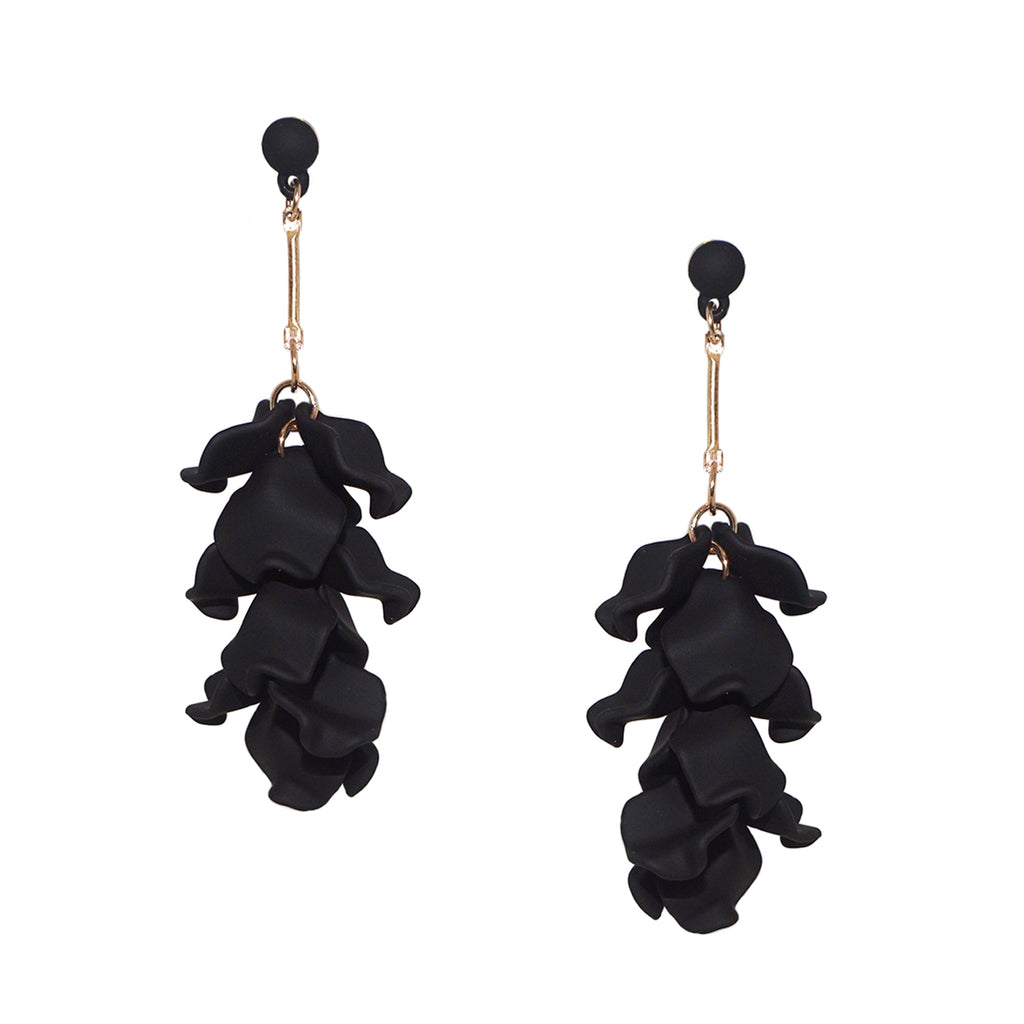 petal drop earring