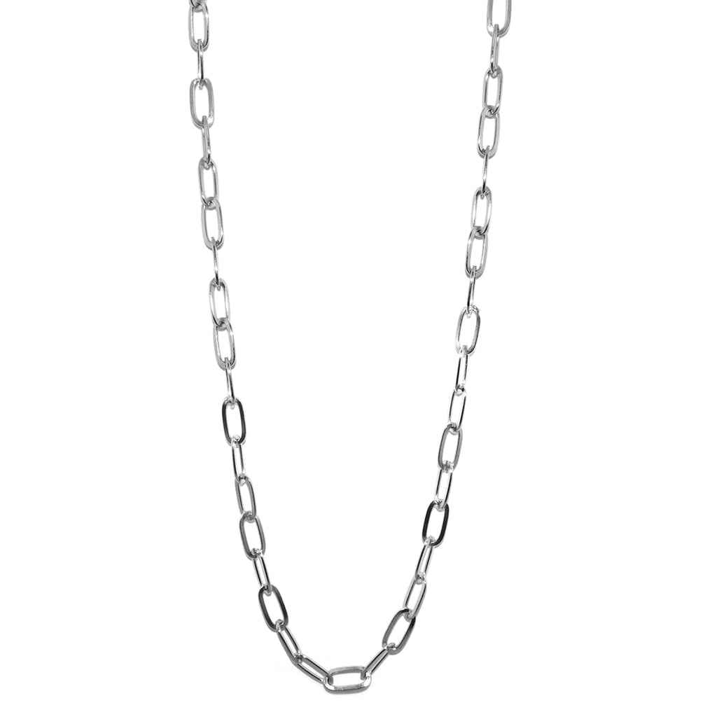 "36"" oval chain charm necklace for clasp charms"