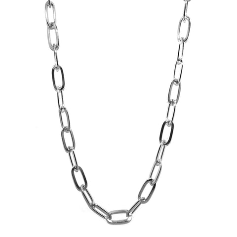 "18"" oval chain necklace for clasp charms"