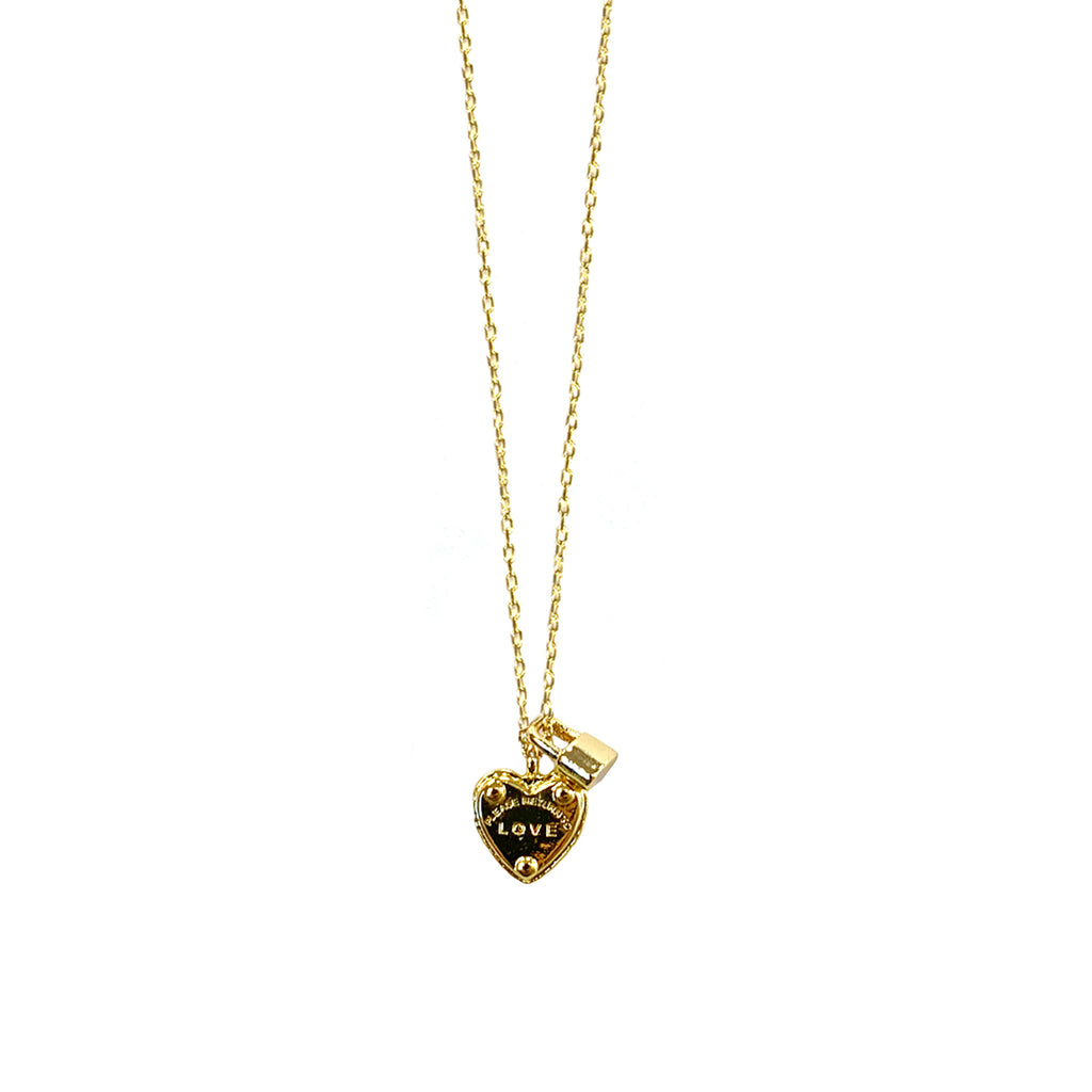 love & lock necklace