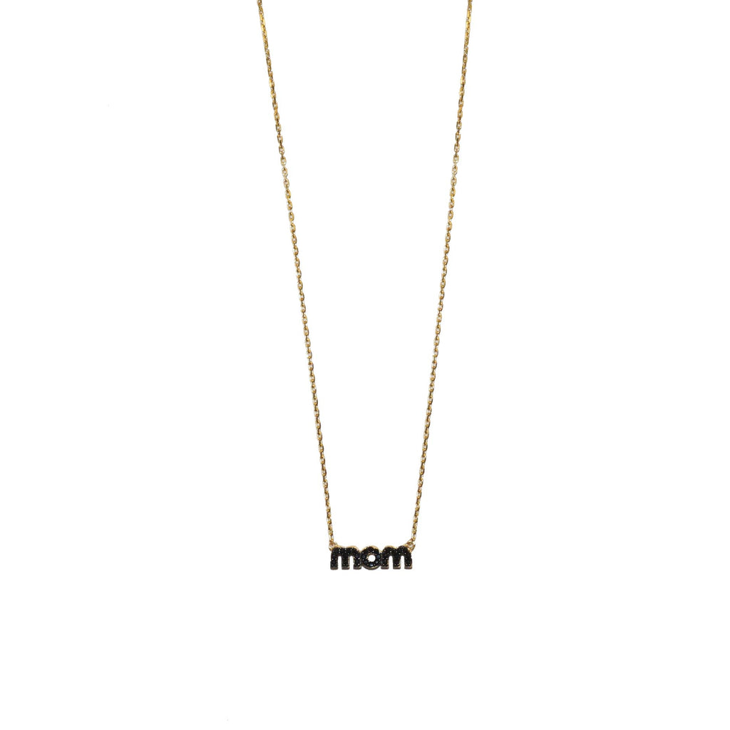 sterling mom necklace