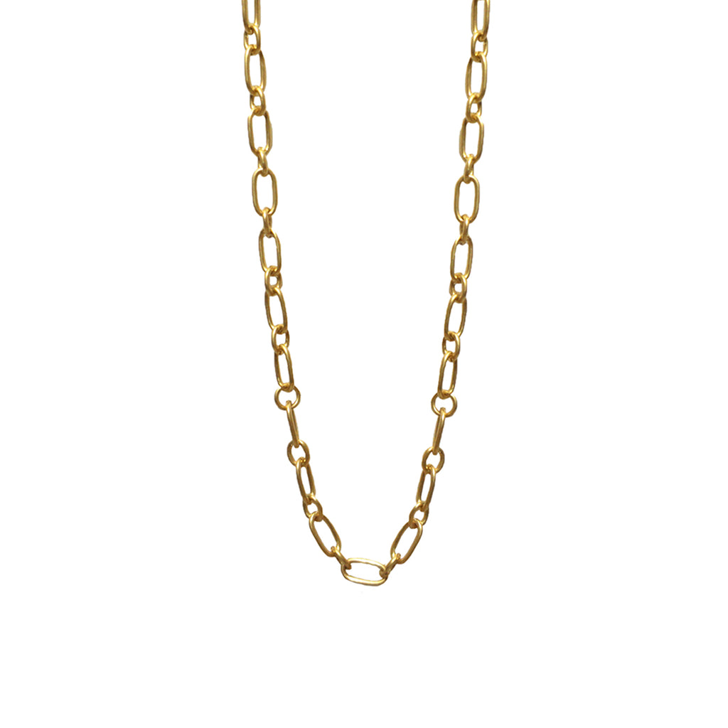 "18"" small oval link necklace for clasp charms"
