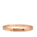 rose gold metal hinge bar bangle