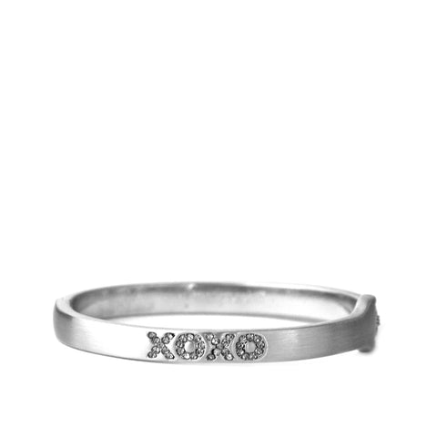 pave XOXO bangle