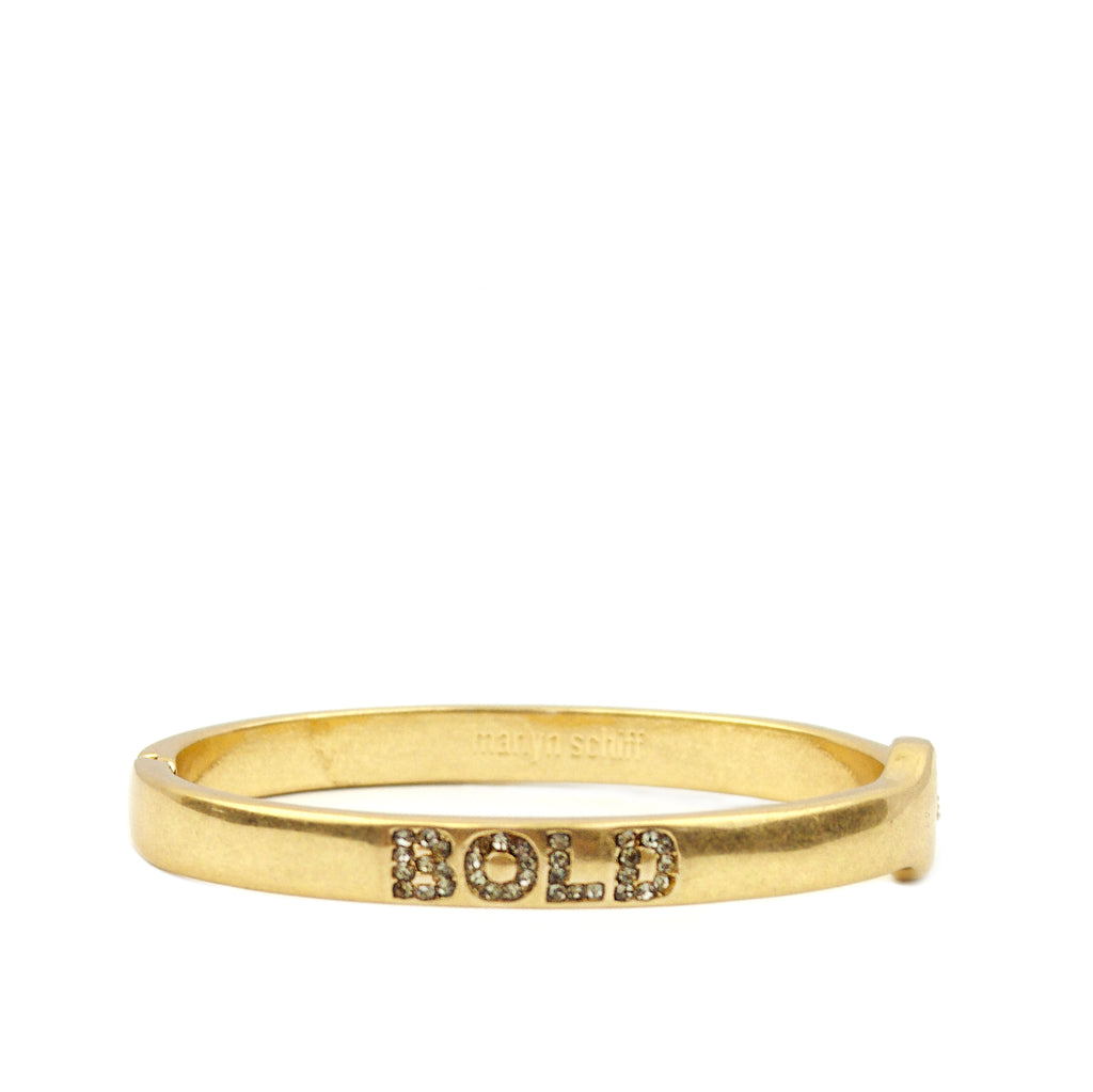 pave BOLD bangle