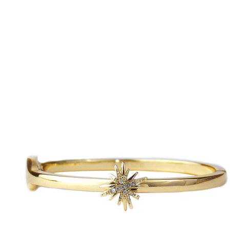 pave starburst bangle