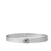 pave evil eye notch bangle