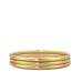 satin finish 3 hollow bangle set