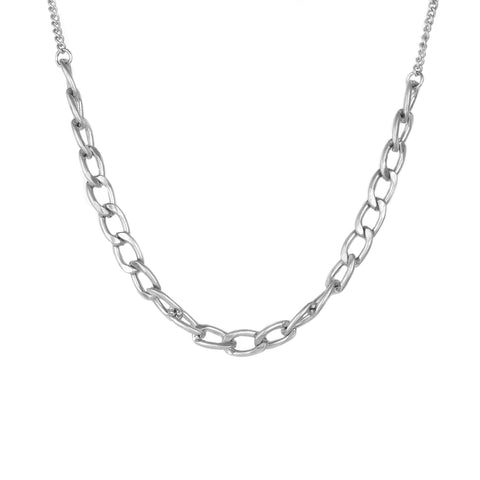 metal cuban link necklace