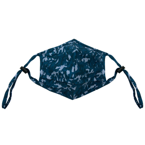 NEW blue camo adjustable mask